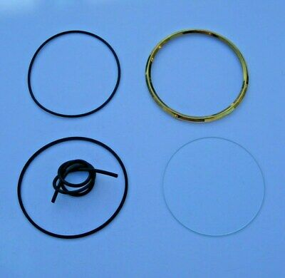 Land Rover Instrument Bezel and Glass Refurbishment Kit - 4 inch
