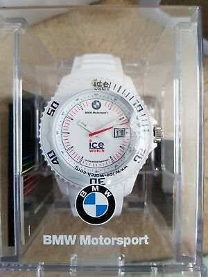 Ice Watch BMW Motorsport White Big Silicone Strap RRP £109 Brand new In box 2d42156f7d1b