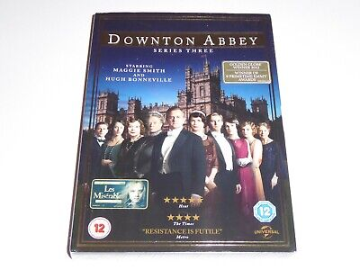 Downton Abbey - The Complete Third Series 3 - NEW SEALED DVD SET Downtown Three