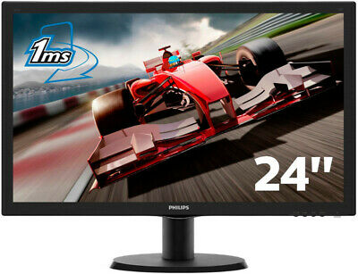 "Monitor Philips 24"" LED 16/9 hdmi monitor a led - full hd (1080p)"
