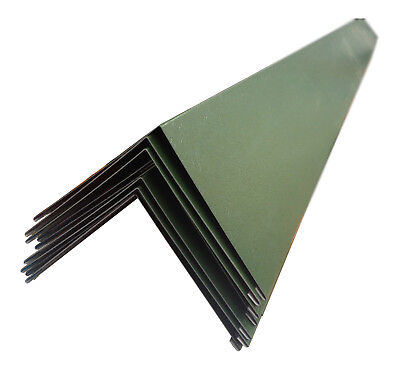 Metal Barge Flashings Corner Trims Steel Eaves Edging Plastisol PVC Coated