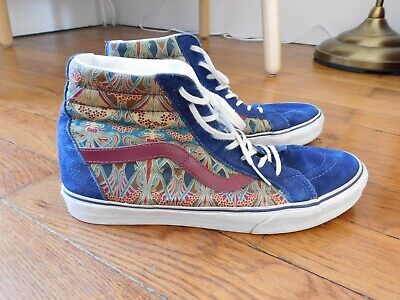 351c0091a3 LIBERTY X VANS Sk8-Hi Reissue Blue Depths 45   11.5 occasion - EUR ...
