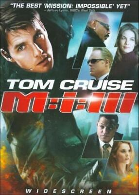 Mission: Impossible 3 (DVD, 2006, Widescreen Edition) NEW