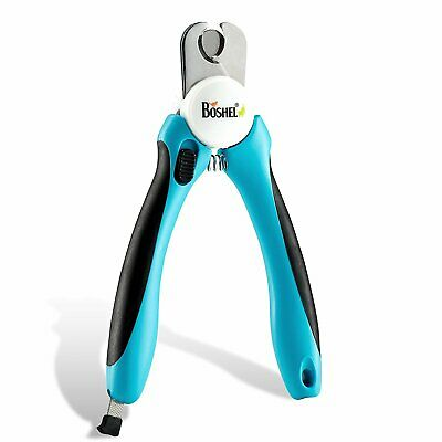 Dog Nail Clippers Trimmer By Boshel Safety Guard Avoid Over-Cutting Razor Sharp