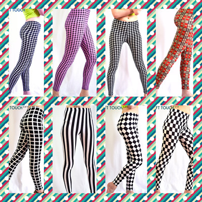 Women's Soft Touch Ankle Length Various Print Pattern Legging size 8-14