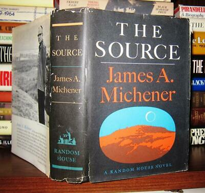 Michener, James A.  THE SOURCE 1st Edition 12th Printing