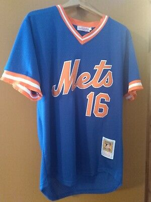 32d6e2ed63a Dwight Gooden New York Mets Mitchell   Ness Mesh Batting Practice Jersey  Coopers