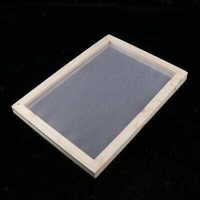 Wooden Paper Making Mould Frame Screen 2 In 1 for Paper Art Craft 18x12.5cm