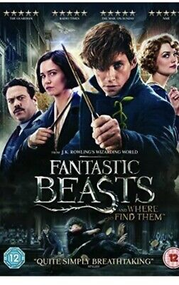 Fantastic Beasts and Where to Find Them DVD (2017) NEW And Sealed