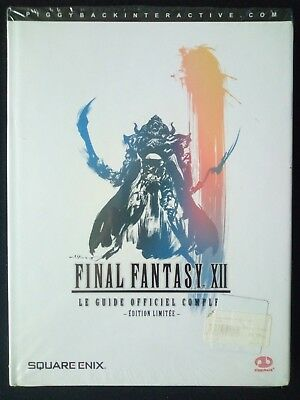 Guide Final Fantasy FF 12 XII Collector - Neuf sous blister - version FR