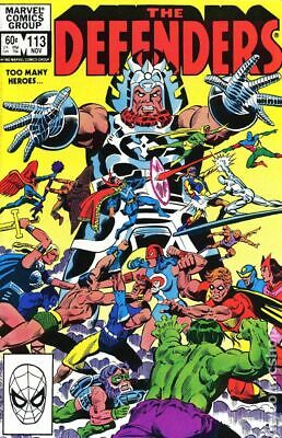 Defenders (1st Series) #113 1982 VG Stock Image Low Grade