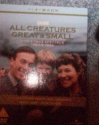 All Creatures Great And Small 2 Dvd 1983 & 1985 Christmas Specials Bbc