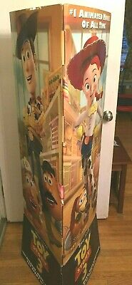 """58"""" Toy Story 3, III Movie DVD Promotional Advertising Display Standee Promo"""