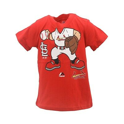 2f0adab7 ST. LOUIS CARDINALS Official MLB Majestic Infant Toddler Size T-Shirt New  Tags