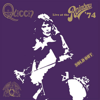 "Queen ""Live At The Rainbow '74"" Coffret Superdeluxe 2Cd/ Dvd/ Blu-Ray/Livre Neuf"