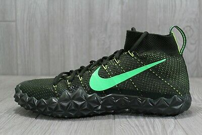 separation shoes c0cac 031f8 38 Mens Nike Alpha Sensory Turf Football Cleats Sequoia Green Size 12  854312 337