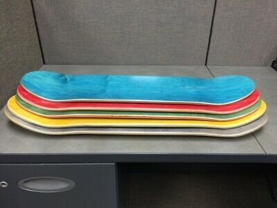 "SKATEBOARD DECKS, 2nds, 7.5"" x 31.5""(5 or 10 Pack) 7-ply, USA made ($7.99 each)"