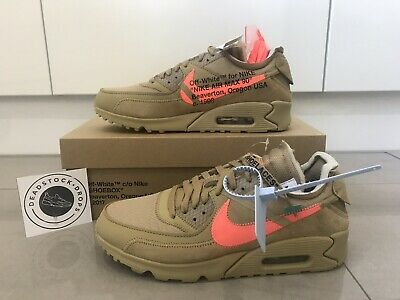 3baedcc634 Nike x Off White Air Max 90 Ore Beige UK 10 US 11 Deadstock Trusted Seller