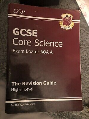GCSE Core Science AQA A Revision Guide - Foundation (w... by CGP Books Paperback