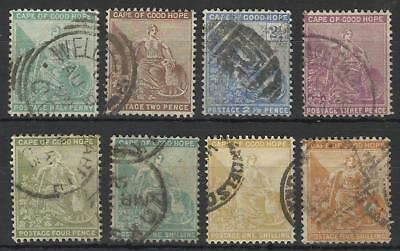 South Africa / Cape Of Good Hope Qv 1893-98 Set Used