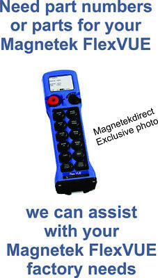Magnetek FlexVUE - $5 Technical Assistance Magnetek Crane Hoist Radio Remote