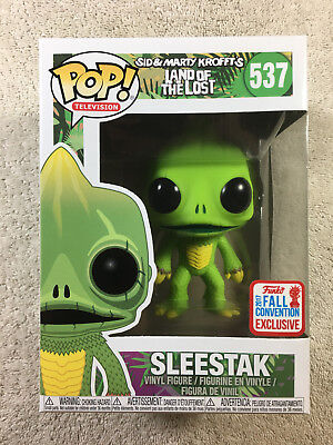 Funko Pop Sleestak Land of the Lost Fall Convention Exclusive #537 NYCC New