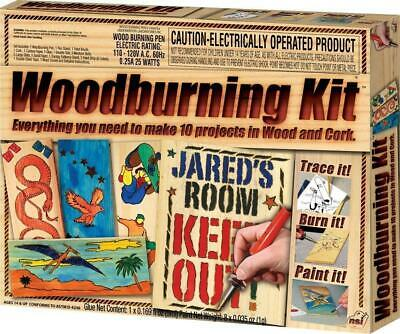 New In Box NSI Wood Burning Kit, Great Gift for Kids!