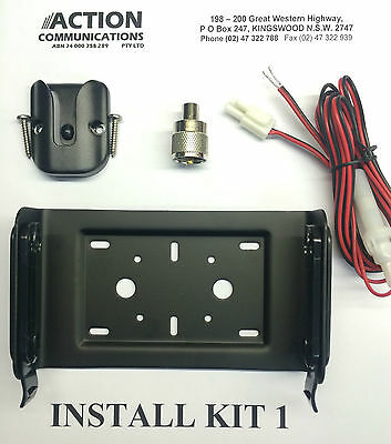 GME Install Kit (MB205 PL259 mount Power Lead MB009) TX3500 TX3400 TX3600 TX3800