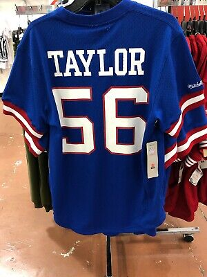 Mitchell   Ness New York Giants Lawrence Taylor Jersey Mens Size 2Xl Nfl  Jersey fe19e1525
