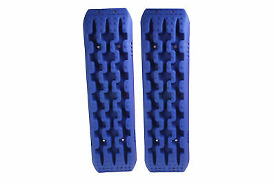 Pair 10T Blue 4WD Recovery Tracks Off Road 4x4 Snow Mud New Sand Track