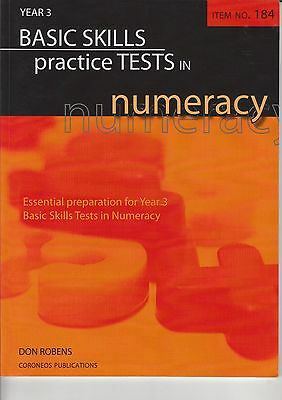 Basic Skills Numeracy Practice Tests Year 3 by Don Robens (Paperback, 2008)