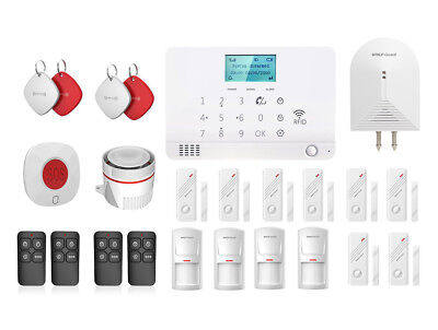 Wolf-Guard Wireless GSM Home Security Alarm System Standard Accessories 433MHZ