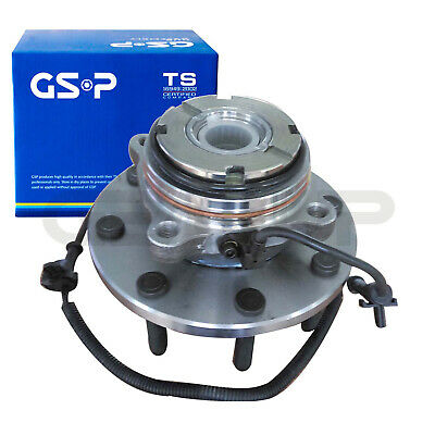 GSP Front Wheel Hub Bearing Assembly For Ford F-350 F-250 Super Duty 4x4 SRW 4WD