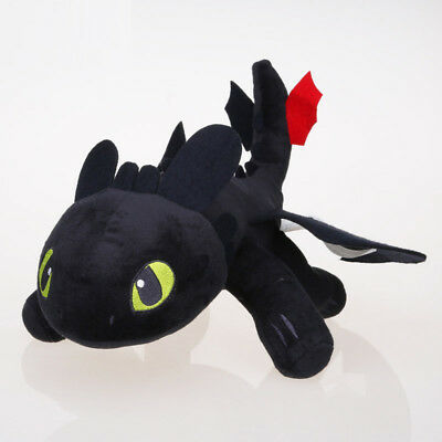 Cotton How To Train Your Dragon Toothless Plush Stuffed Toy Soft Warm Doll 25cm
