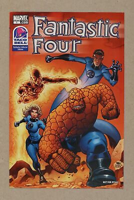 Fantastic Four Taco Bell Exclusive Edition #1 2009 VF 8.0