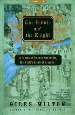 The Riddle Knight In Search Sir John Mandeville  by Milton Giles -Paperback