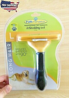 "FURminator Brush 1.7-4"" BLADE SHORT LONG HAIR DESHEDDING TOOL COMB for Dogs Cats"