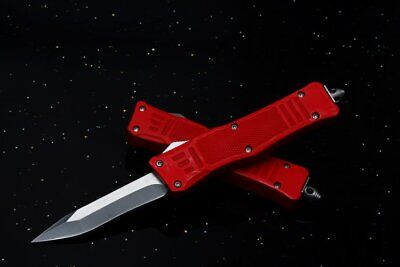 Coltello Microtech 616 Red And Black Piccolo Apertura Ultra Fast Da Collezione