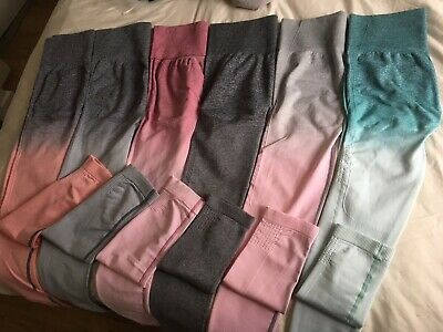 Ombre Seamless Leggings UK Gym Top and Squat Proof Leggings Quality High Waisted