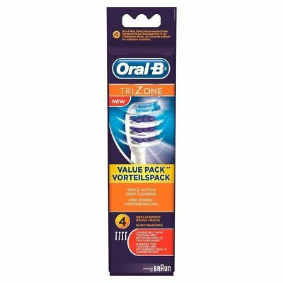 Braun Oral B Electric Toothbrush Replacement Brush Heads TRIZONE  new