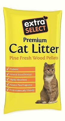 Extra Select Premium Wood Based Cat Litter, 30 L NEW & FAST