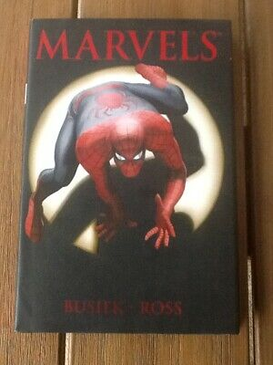 Marvels Hardcover Graphic Novel 2008 Busiek/Ross Collects Mini Series