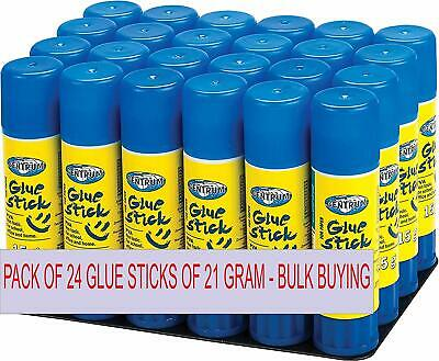 Centrum 21g Glue Sticks - White (Pack of 24)