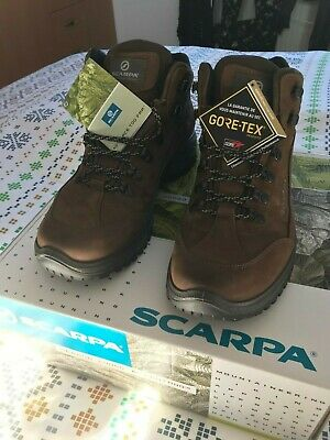 06caa471086 Scarpa Cyrus Mid Gtx Mens Gore-Tex Walking Hiking Trekking Boots Uk 9.5 - Eu