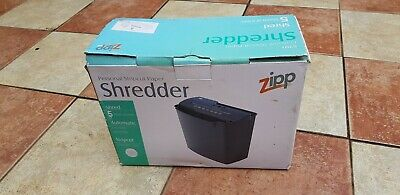 Portable 5 Sheets Strips Cut Paper Document Home Office Electric Shredder Cutter