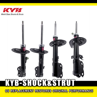 KYB Excel-G Front Suspension Struts and Rear Shock Absorbers Kit For Buick Enclave Chevrolet Traverse GMC Acadia Limited