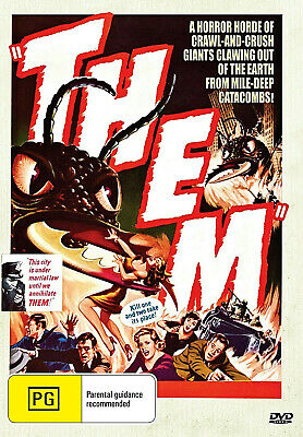 THEM  James Whitmore, Edmund Gwenn, Joan Weldon  Scence Fiction - DVD
