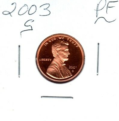 2003-S Lincoln Memorial Cent Gem Proof Deep Cameo Coin Buy It Now #c709