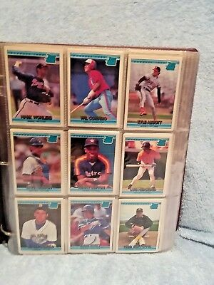 1992 Donruss Complete Baseball Cards Set; Mint Condition In Binder.