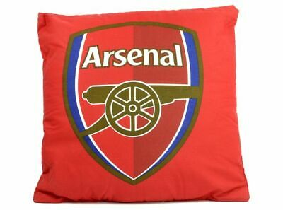 Official Arsenal Team Large Crest Red Cushion Football Club Ideal Gift New